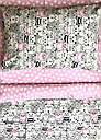 """Детское постельное белье """"Котики с сердечками"""" розовое (100 % хлопок), фото 5"""