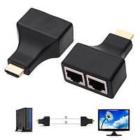 Подовжувач HDMI до 30 м по витій парі RJ45 2000-03614
