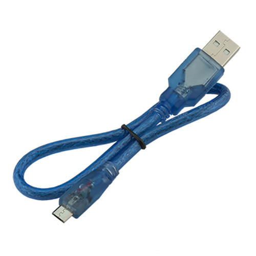 MicroUSB дата кабель для Arduino, телефона экранированный 50см 2000-02871