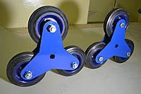 Блоки трехколесные для лестничных тележек, фото 1