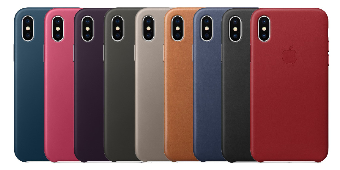 Чехол Silicone Case для Apple iPhone X