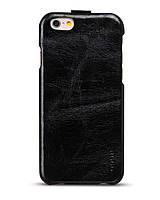 Чехол с флипом HOCO General series flip leather case для Apple iPhone 6, black