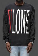 Свитшот Vlone logo | Кофта чёрная