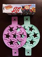Форма силиконовая для жарки яиц,оладий,горячих бутербродов, Звезда FRU-838