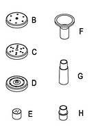 Насадки  для фонтана Многоструй 8 мм трубка набор для садового фонтана