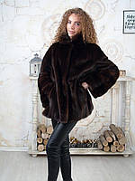 Норковый женский полушубок приталенный 50 52, фото 1