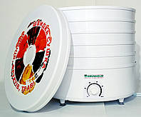 Электросушилка для овощей и фруктов GRUNHELM BY1162 на 20 л (5 ярусов), фото 1