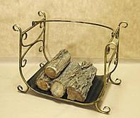 Кованая подставка для дров. Дровница 08., фото 1