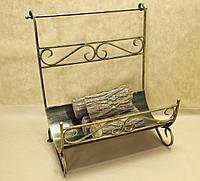 Кованая подставка для дров. Дровница 09., фото 1