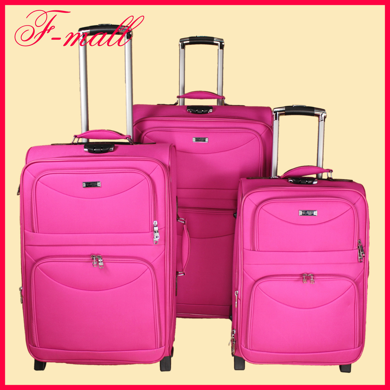 Комплект чемоданов Union