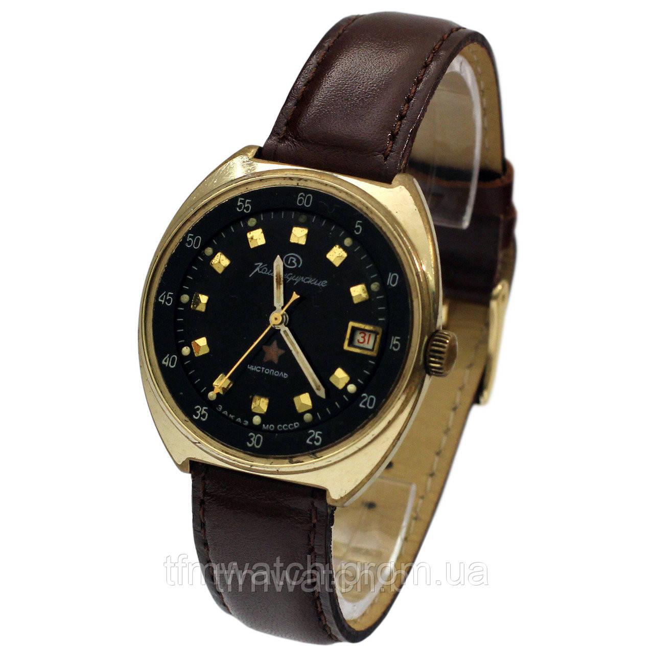 18835b65 Позолоченные Командирские часы Чистополь: продажа, цена в Москве ...