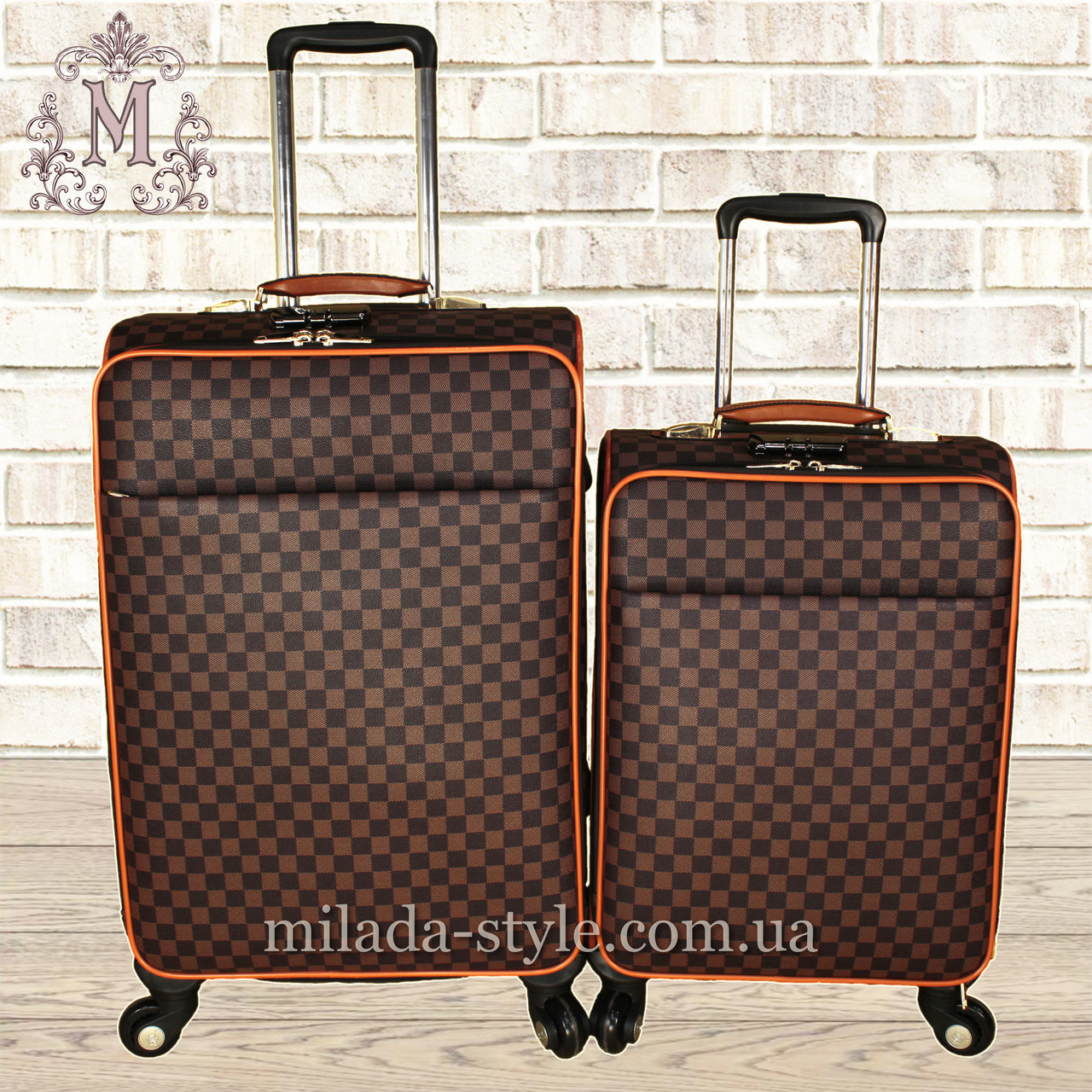 Комплект чемоданов эко-кожа 3003