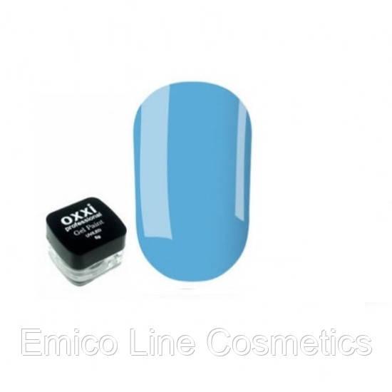 Гель-краска Oxxi Professional, № 7 (синий)