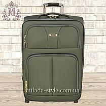 Комплект чемоданов 3 колеса 2в1( хаки), фото 2