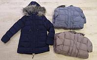 Куртка  на девочек  на синтепоне  и меховой подкладке  134 / 170 см