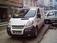 Передняя губа Opel Vivaro (до 2007г.в.)