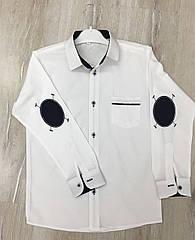 Белая рубашка для мальчика 11-12-13-14 лет