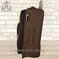 Комплект чемоданов 3 колеса 2в1 (коричневый), фото 2
