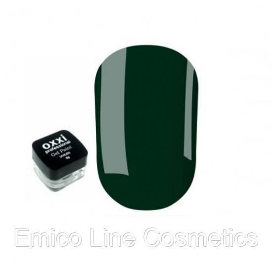 Гель-краска Oxxi Professional, № 12 (зеленый)