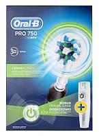 Зубная щетка ORAL-B PRO 750 black, фото 1