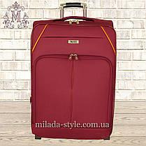 Комплект чемоданов 3 колеса 2в1 (красный), фото 3