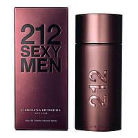 Carolina Herrera 212 Sexy Men (Каролина Херрера 212 Секси Мен), мужская туалетная вода, 100 ml