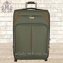 Комплект чемоданов 3 колеса 2в1 (хаки), фото 2
