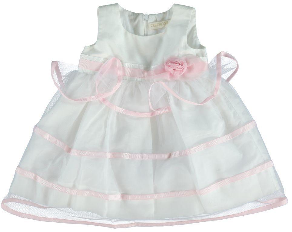 Платье для девочки  Ceremony by Wojcik  23561 белое  68