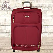 Комплект чемоданов 3 колеса 2в1 (красный), фото 2