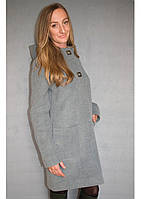 Пальто женское №51 ЗИМА (серый)