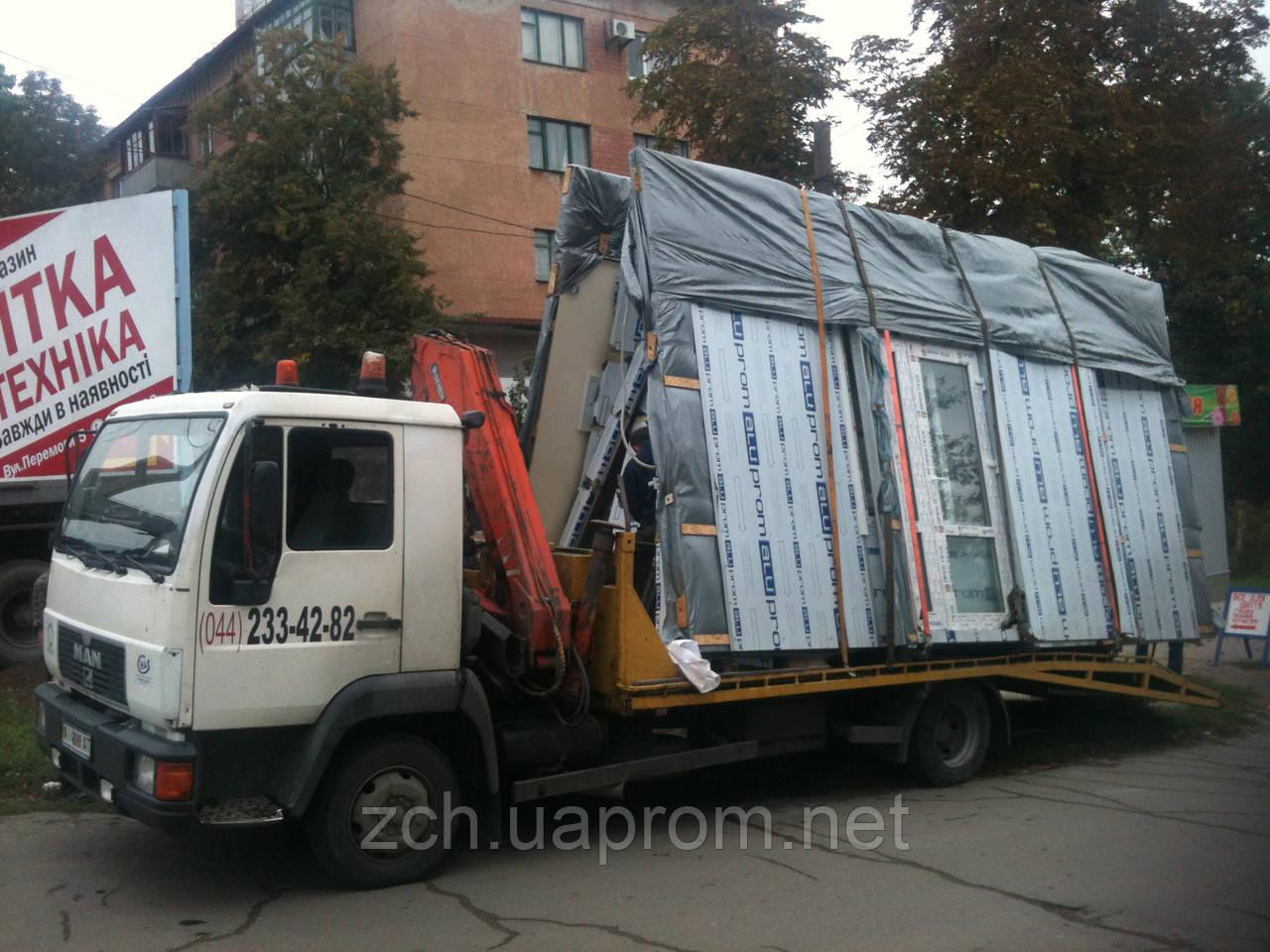 Вантажні автомобільні перевезення