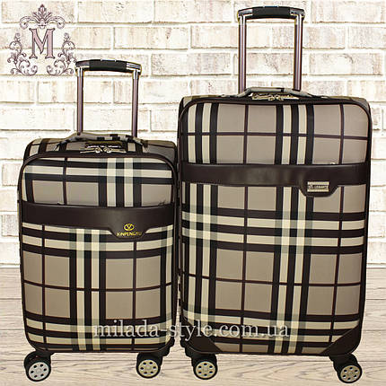 Комплект чемоданов эко-кожа  2в1 1805, фото 2