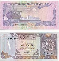 Qatar Катар - 1 Riyal 1985 Pick 13a UNC