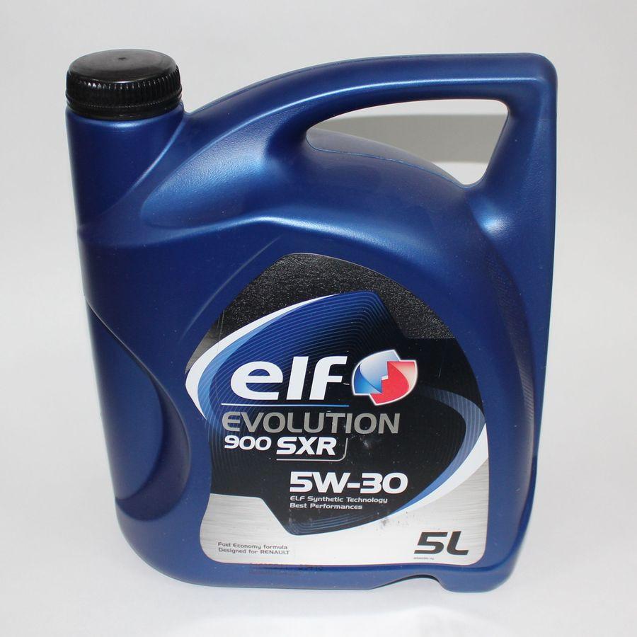 Синтетическое моторное масло Elf Evolution 900 SXR sae 5w-30