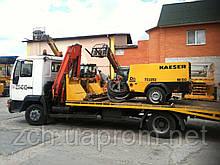 Эвакуатор для бетононасоса, компрессора