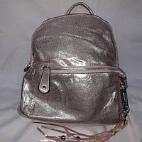 Женский нежно-розовый рюкзак, фото 1