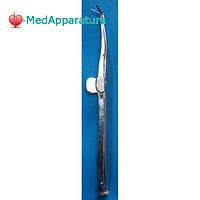 Ножиці-пінцет для райдужної оболонки мікрохірургічний 11 см ОФ 6-153