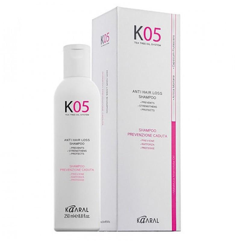 Шампунь для профилактики выпадения волос Kaaral К05 Anti Hair Loss Shampoo