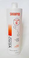 Шампунь для окрашенных волос с витамином С 1000 мл, Vero Professional