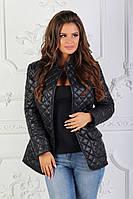 Женская куртка - пиджак / плащевка, синтепон 150 / Украина 47-2190, фото 1
