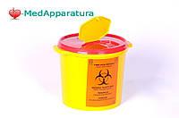 Контейнер для сбора медицинских отходов, 5 л., класс В