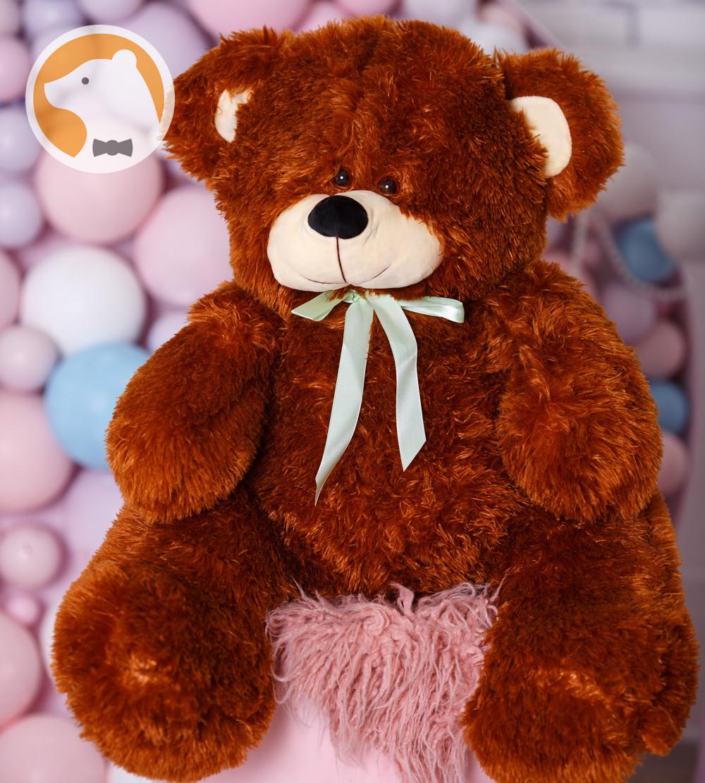 Плюшевый мишка Милашка, 90 см, коричневый