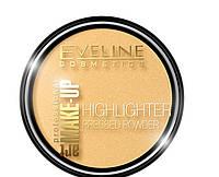 Осветляющая компактная пудра Eveline Cosmetics Highlighter Pressed Powder Art Professional Make-up тон № 55
