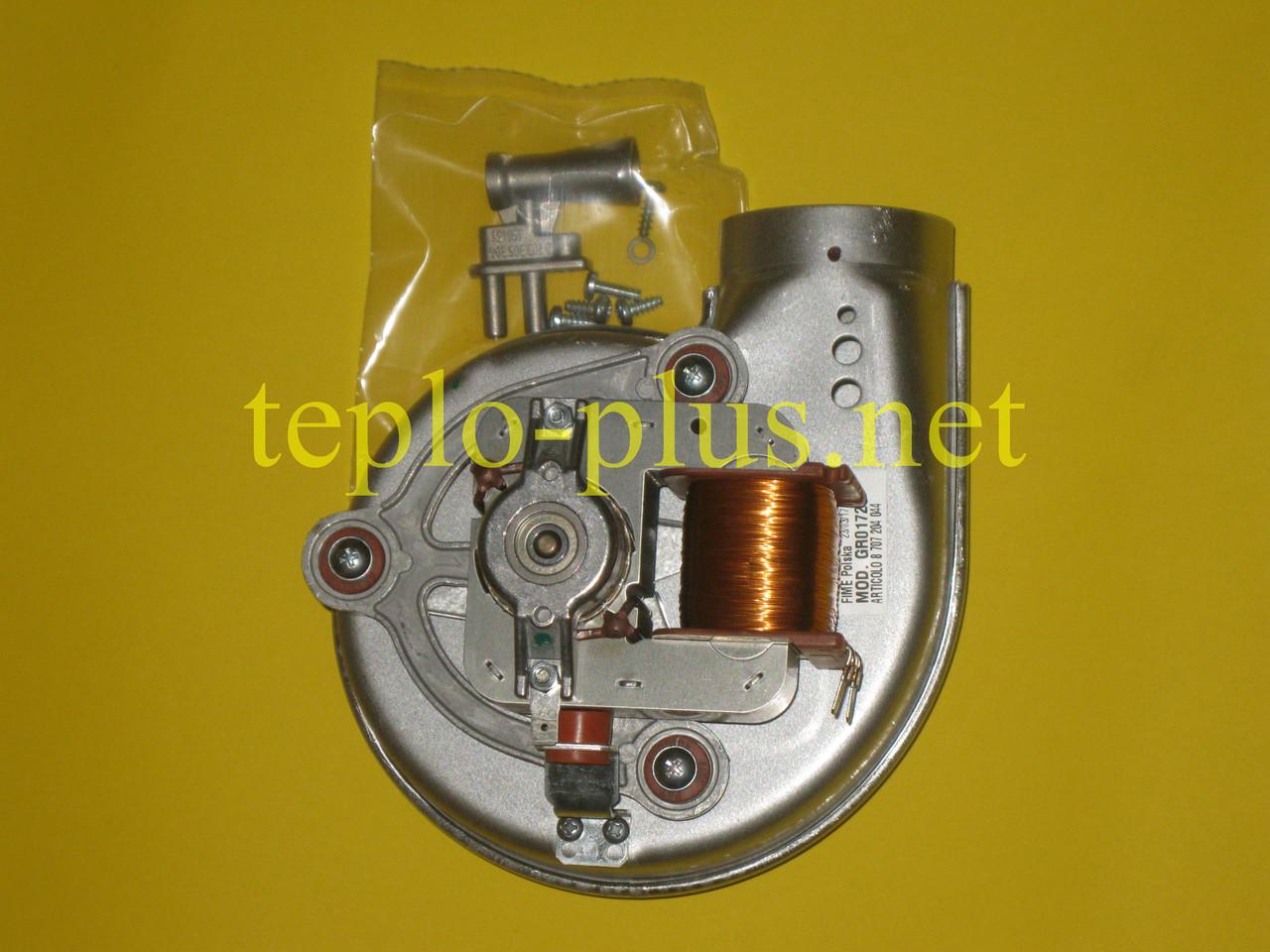 Вентилятор 8707204038 Junkers, Bosch Euroline ZW23-1AE, ZS23-1AE, Ceraclass ZW24-2DH AE, ZS24-2DH AE