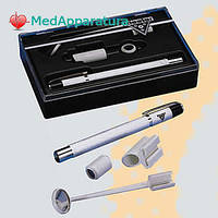Набор ri-light с 2 батарейками ААА (диагностический фонарик fortelux® N, гортанное зеркало, держатель шпателя