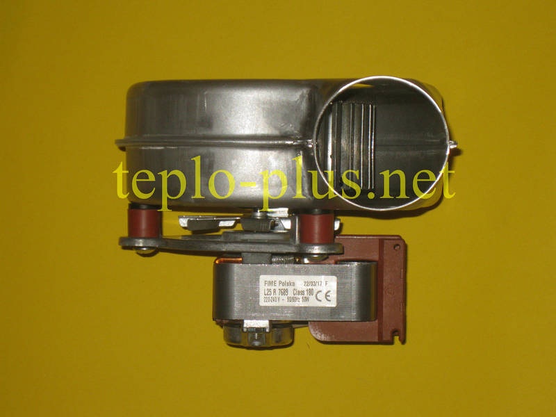 Вентилятор 8707204038 Junkers, Bosch Euroline ZW23-1AE, ZS23-1AE, Ceraclass ZW24-2DH AE, ZS24-2DH AE, фото 5
