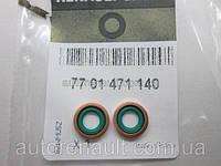 Уплотнительные кольца трубки впуска масла в турбину на Рено Кенго 01-> 1.9dCi / 1.5dci — Renault - 7701471140