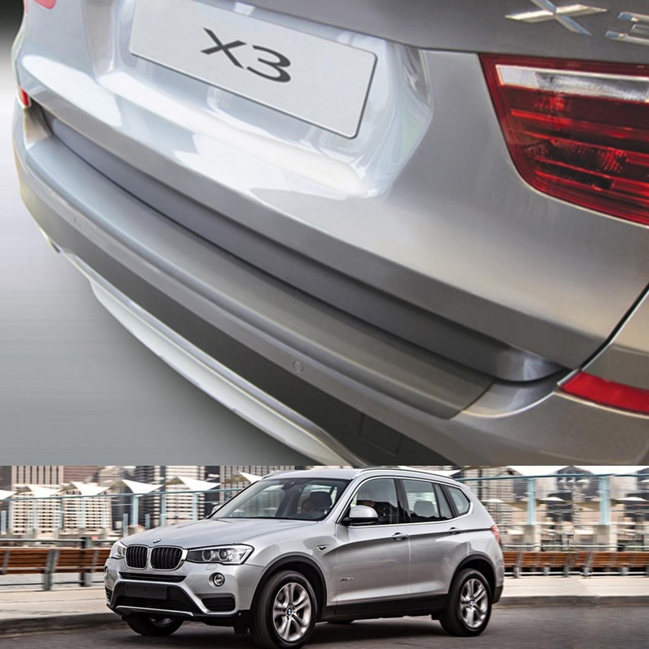 BMW X3 F25 2014-2017 пластиковая накладка заднего бампера