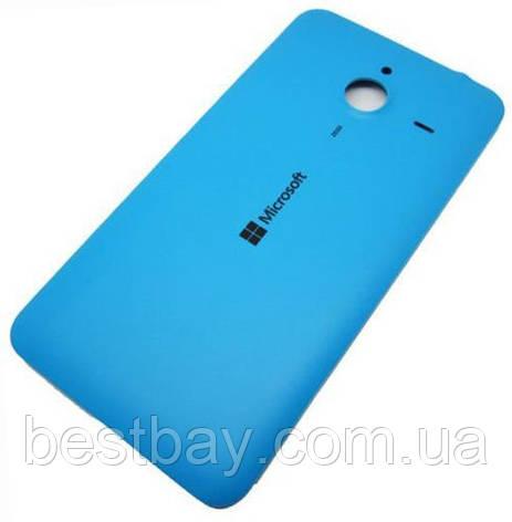 Задняя крышка Microsoft 640 XL Lumia Dual Sim (RM-1062,RM-1065) blue , фото 2