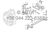 Тяговая и опорная рама на YTO X1304, фото 1